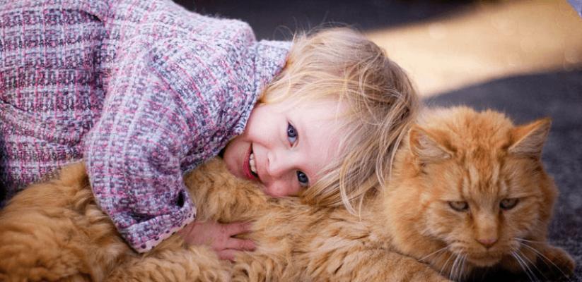 Երեխաները և ընտանի կենդանիները