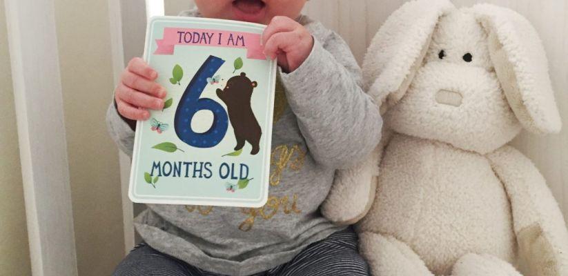 Երեխայի աճը։ Վեցերորդ ամիս