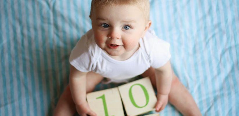 Երեխայի աճը։ Տասներորդ ամիս