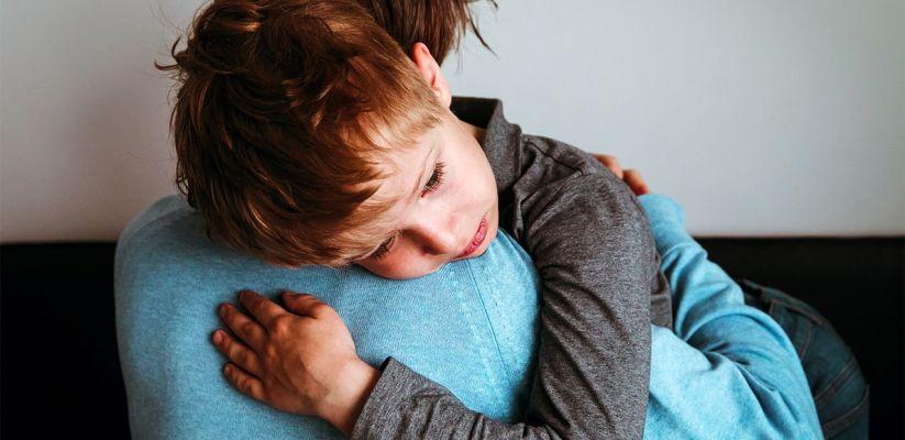 Անհանգիստ վիճակում գտնվող երեխային օգնություն