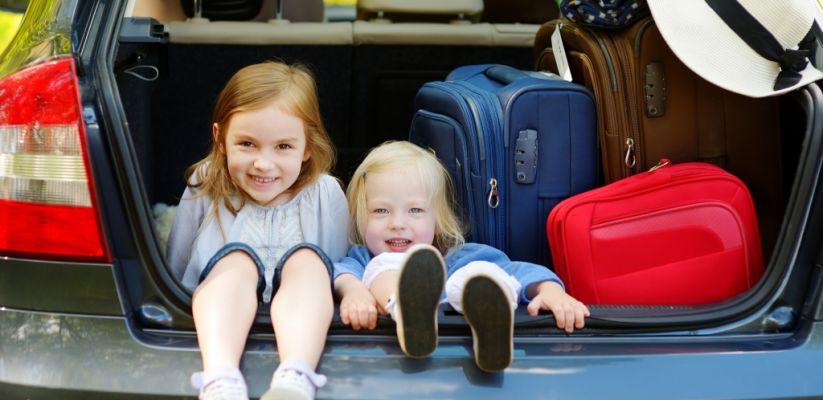 Ճանապարհորդել մեքենայով երեխաների հետ
