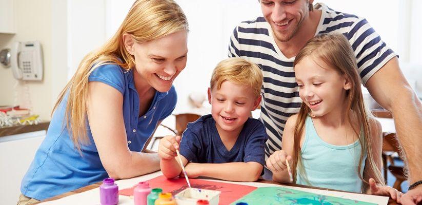 Ընտանեկան կապ. Դրական մթնոլորտ ընտանիքում