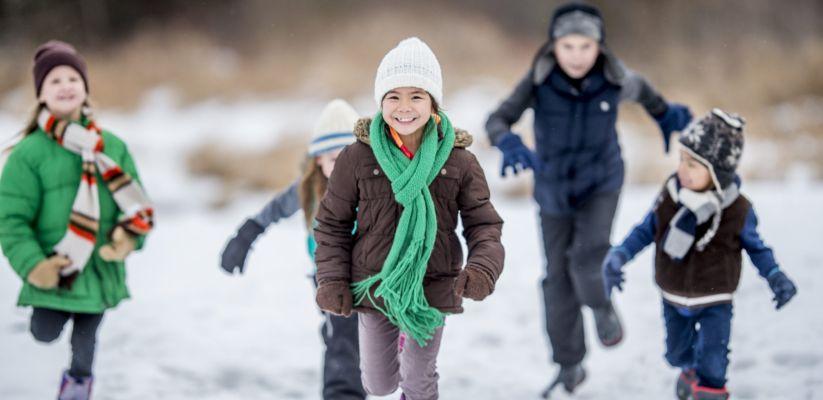 Բացօթյա զբաղմունքներ ձմռանը նախադպրոցական երեխաների համար