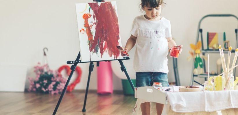 Նկարչությունը զարգացնում է երեխայի մտածողությունը