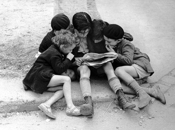 կարդացող երեխաներ