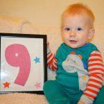 Երեխայի աճը։ Իններորդ ամիս