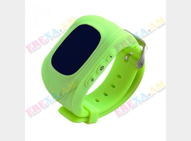 Մանկական խելացի կանաչ ժամացույց