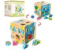 Փայտե ուսուցողական խաղալիք