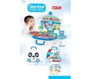 Բժշկական հավաքածու անիվներով