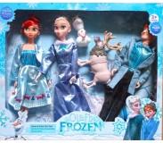Տիկնիկ Frozen հերոսներով