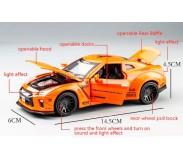 Մետաղյա մեքենա Nissan GTR