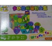 Փայտե ուսուցողական խաղալիք թվերով