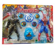Խաղալիք հերոսներ ժամացույցով