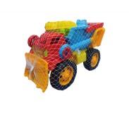 Խաղալիք բեռնատար ավազի խաղերով